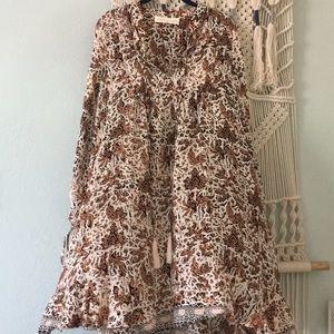 Natalie Martin Anthropologie tunic dress medium